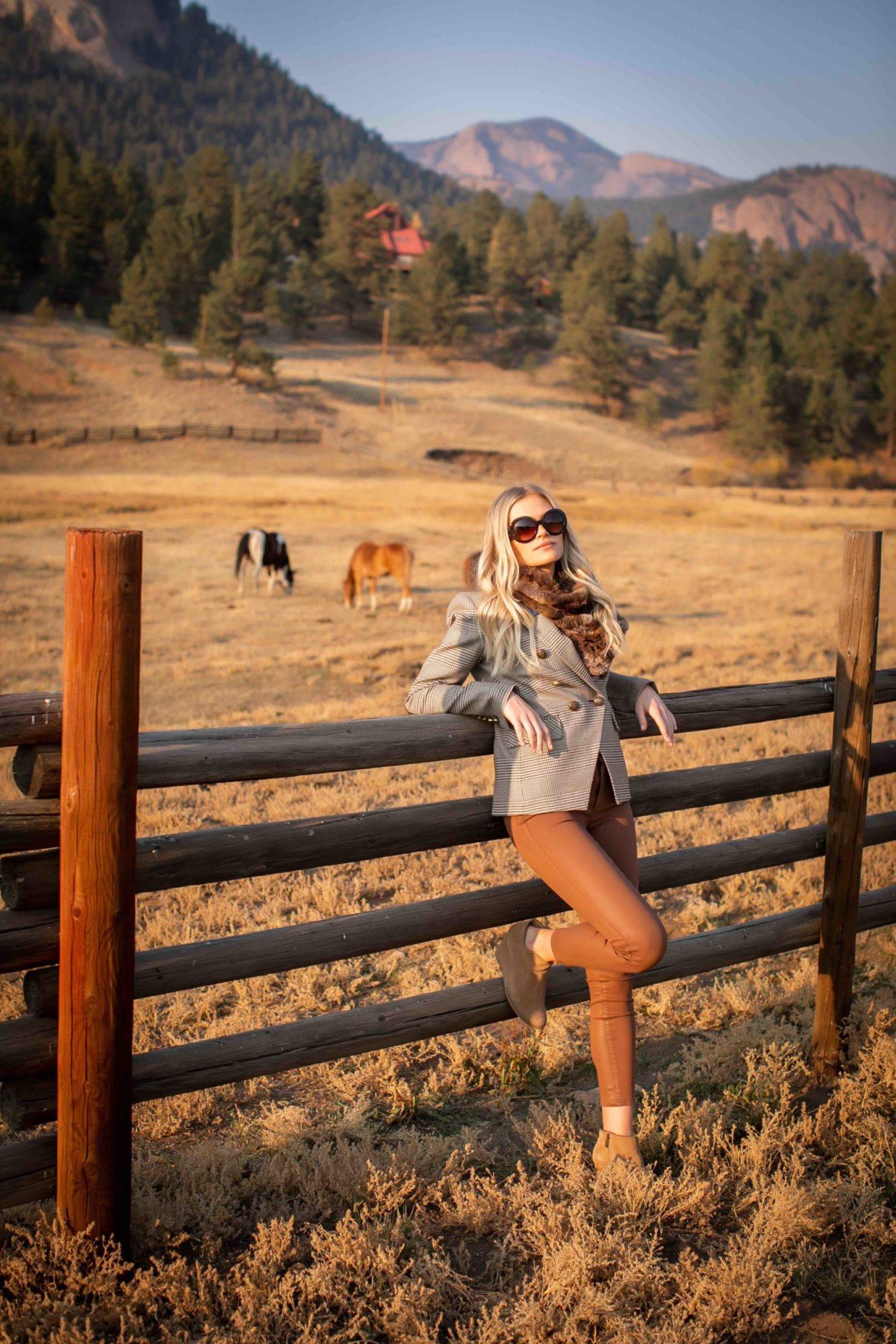 Cherry Creek Magazine | Glamping Fashion Shoot