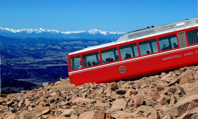 The Broadmoor Colorado Springs Colorado Cherry Creek Magazine The Broadmoor Manitou and Pikes Peak Cog Railway Pikes Peak Manitou Springs Train Travel History Outdoors Family