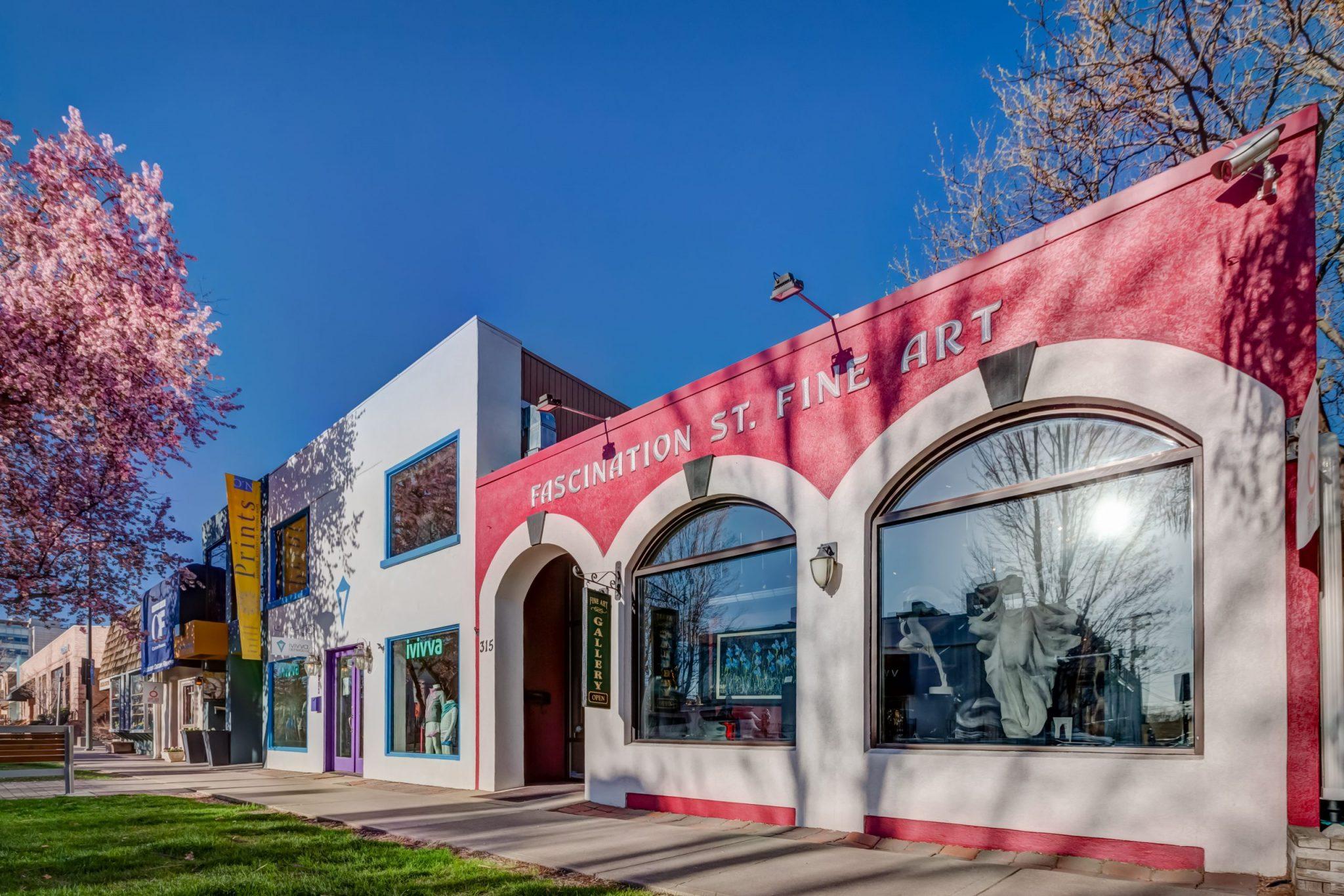 Fascination Street Fine Art Aaron LaPedis Owner Interview Cherry Creek Magazine Cherry Creek North Denver Colorado Art Gallery